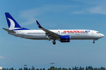 TC-SCG - AnadoluJet Boeing 737-800