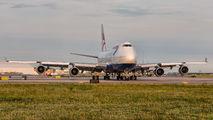 G-BYGA - British Airways Boeing 747-400 aircraft