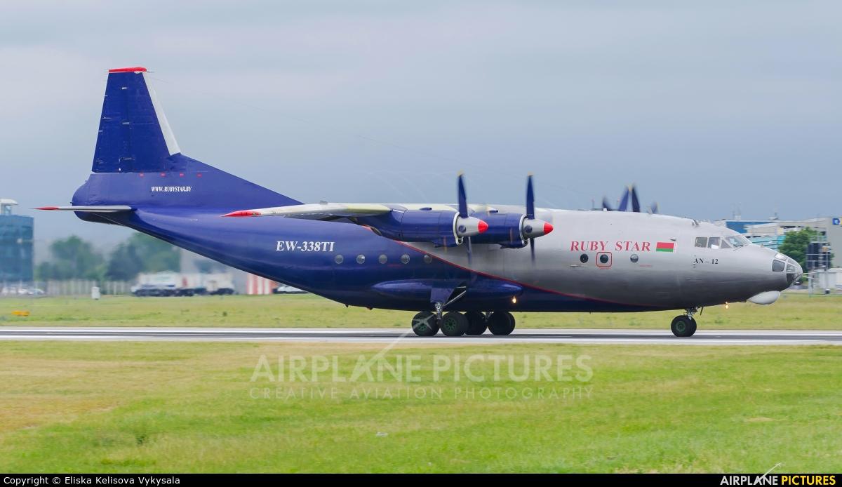 Ruby Star Air Enterprise EW-338TI aircraft at Prague - Václav Havel