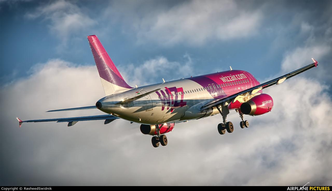 Wizz Air HA-LPN aircraft at Lublin