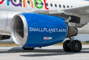 SP-HAF - Small Planet Airlines Airbus A320 aircraft