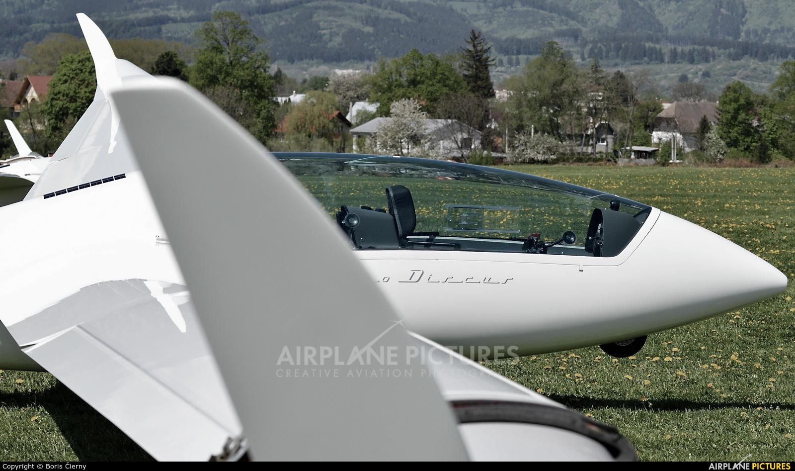 Private OM-2020 aircraft at Martin-Tomčany