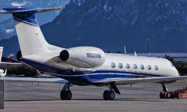 N501HM - Private Gulfstream Aerospace G-V, G-V-SP, G500, G550