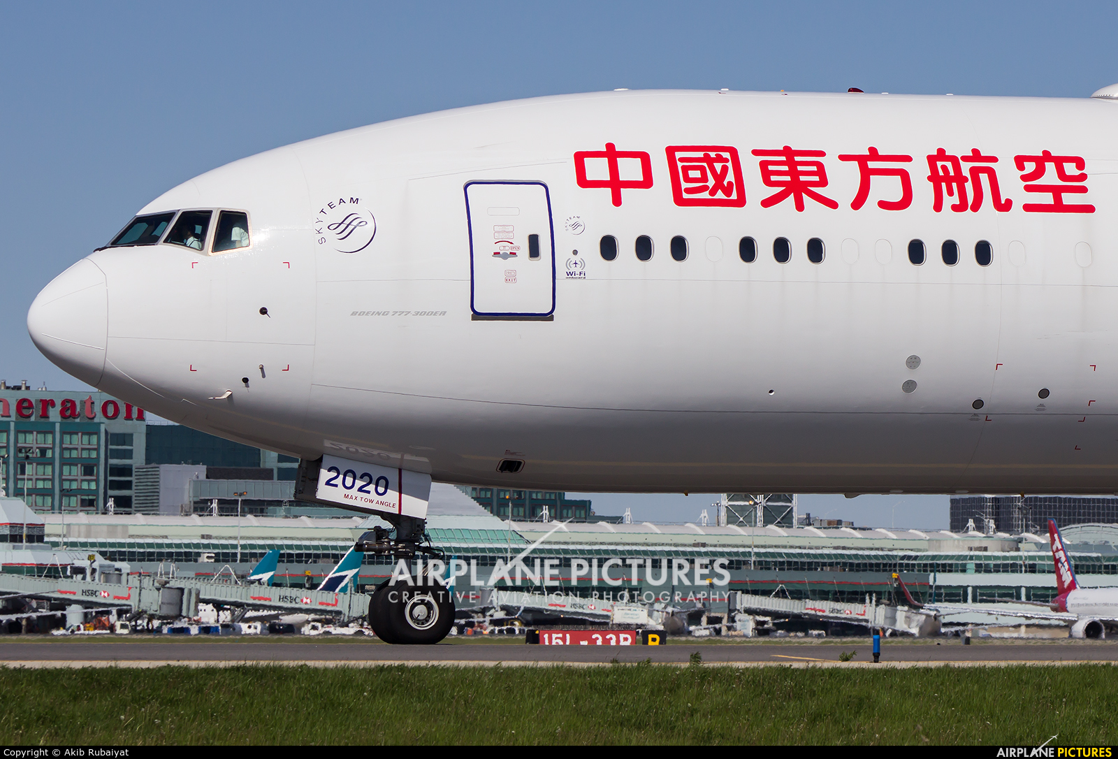 B 2020 china eastern airlines boeing 777 300er at - China eastern airlines sydney office ...