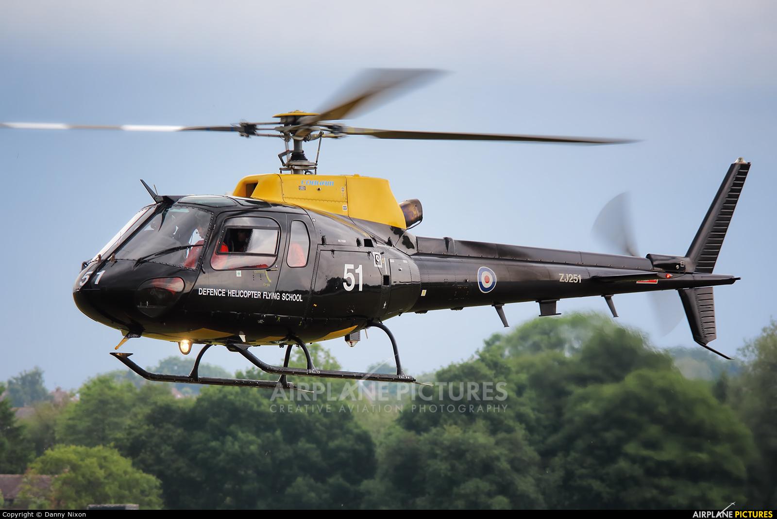 Royal Air Force ZJ251 aircraft at Cosford