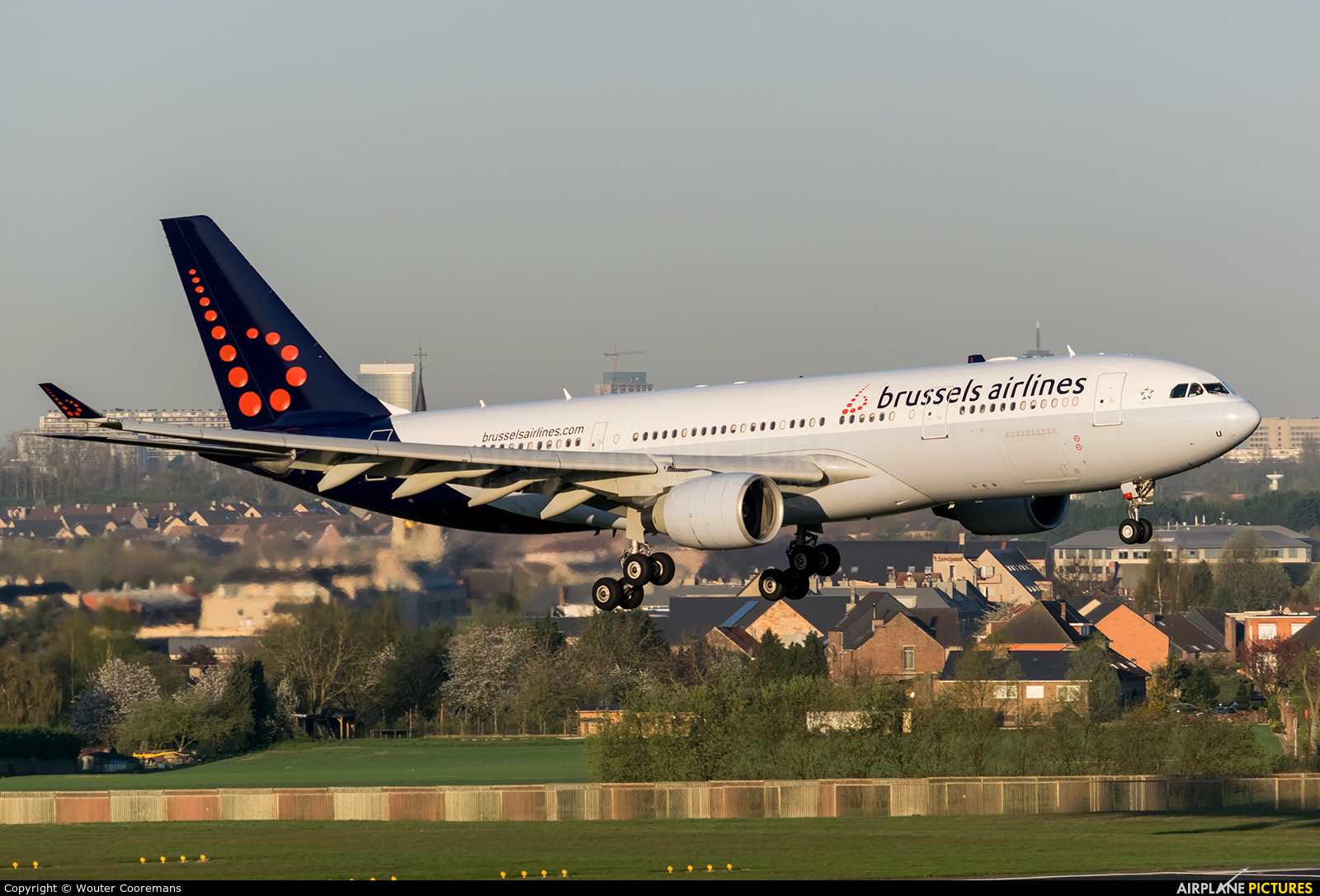 Brussels Airlines OO-SFU aircraft at Brussels - Zaventem