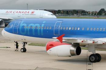 G-MEDN - BMI British Midland Airbus A321