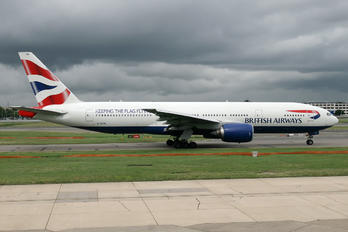 G-YMML - British Airways Boeing 777-200ER