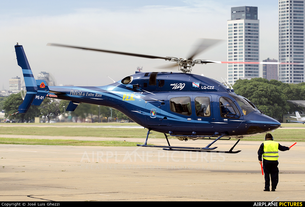 Argentina - Police LQ-CZZ aircraft at Buenos Aires - Jorge Newbery