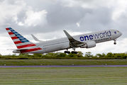N343AN - American Airlines Boeing 767-300ER aircraft