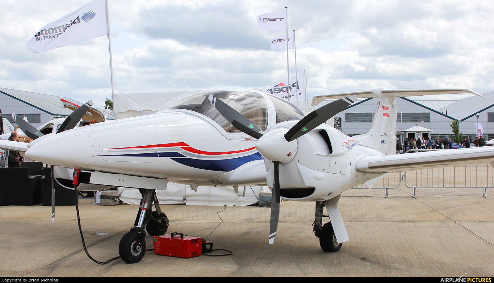 Private OE-FVI aircraft at Northampton / Sywell