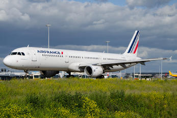 F-GTAZ - Air France Airbus A321