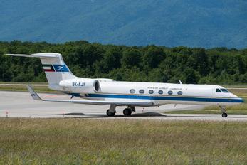 9K-AJF - Kuwait - Government Gulfstream Aerospace G-V, G-V-SP, G500, G550