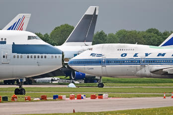SX-OAD - Olympic Airlines Boeing 747-200