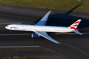 G-STBB - British Airways Boeing 777-300ER