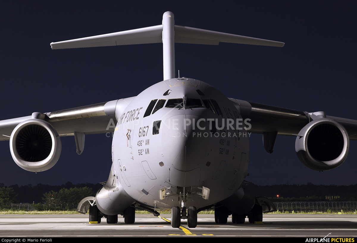 USA - Air Force 06-6167 aircraft at Milan - Malpensa