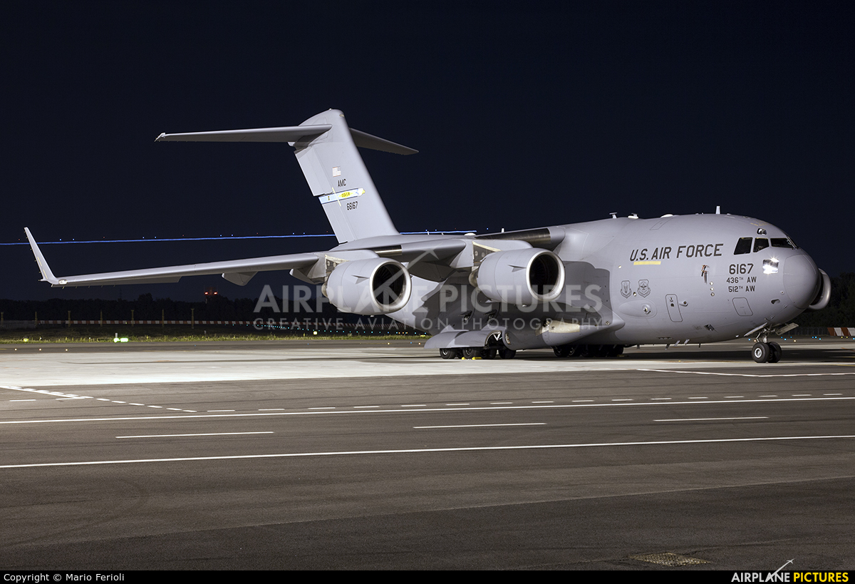 USA - Air Force 06-6167 aircraft at Milan - Malpensa