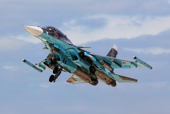 RF-95809 - Russia - Air Force Sukhoi Su-34