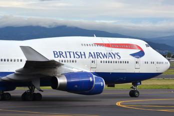 G-CIVB - British Airways Boeing 747-400