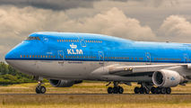 PH-BFO - KLM Boeing 747-400 aircraft