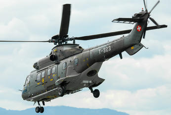T-323 - Switzerland - Air Force Aerospatiale AS532 Cougar