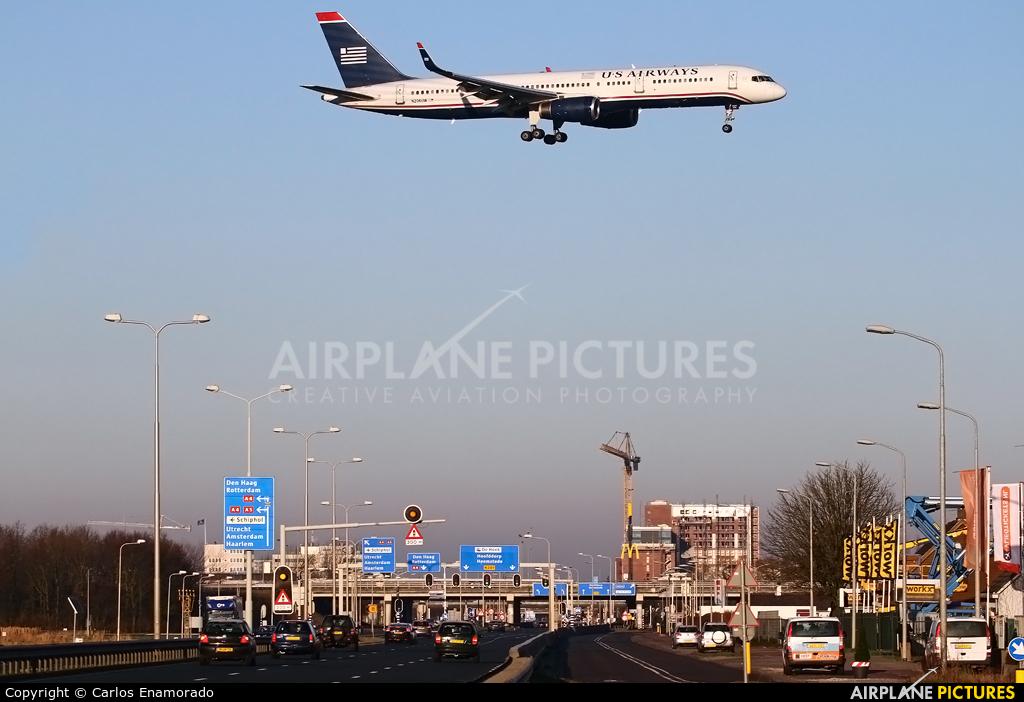 US Airways N206UW aircraft at Amsterdam - Schiphol