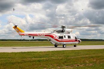 1017 - Poland - Air Force PZL W-3 Sokół