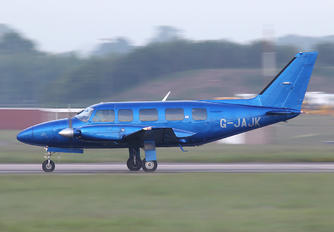 G-JAJK - Woodgate Air Charter Piper PA-31 Navajo (all models)