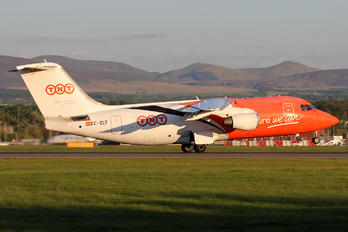 EC-ELT - TNT British Aerospace BAe 146-200/Avro RJ85-QT Quiet Trader