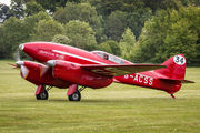 G-ACSS - The Shuttleworth Collection de Havilland DH. 88 Comet aircraft