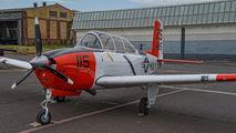 N7041U - Private Beechcraft T-34B Mentor aircraft