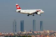 HB-JLR - Swiss Airbus A320 aircraft