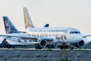 N923FR - Frontier Airlines Airbus A319 aircraft