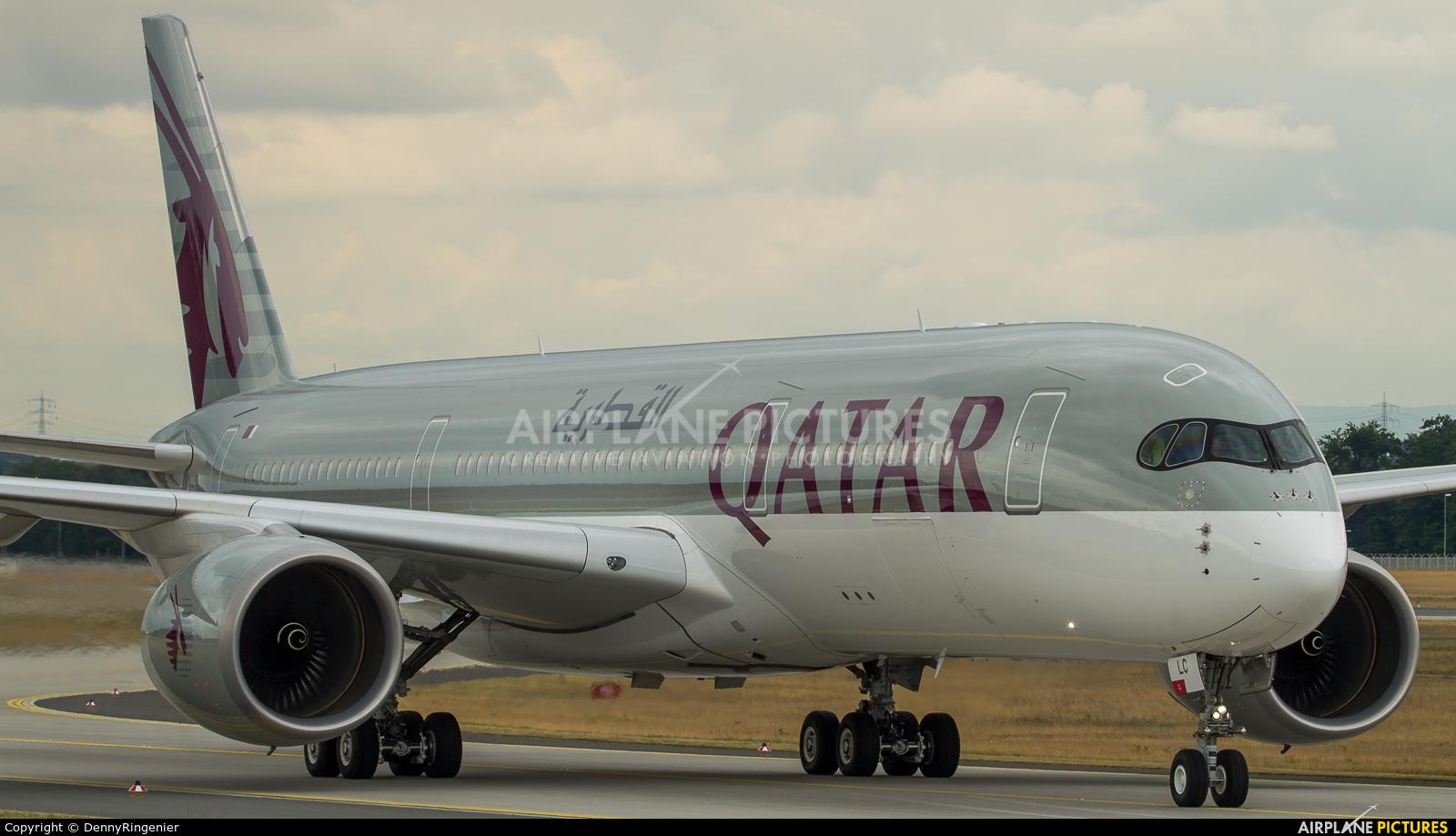 Qatar Airways A7-ALC aircraft at Frankfurt