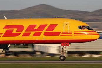 G-BIKK - DHL Cargo Boeing 757-200F