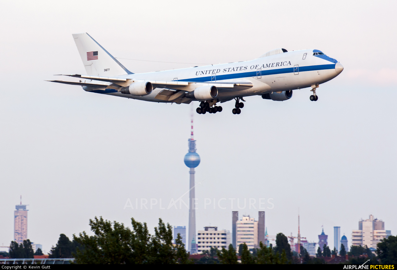 USA - Air Force 73-1677 aircraft at Berlin - Tegel
