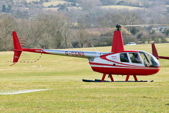 G-CGND - Private Robinson R44 Clipper