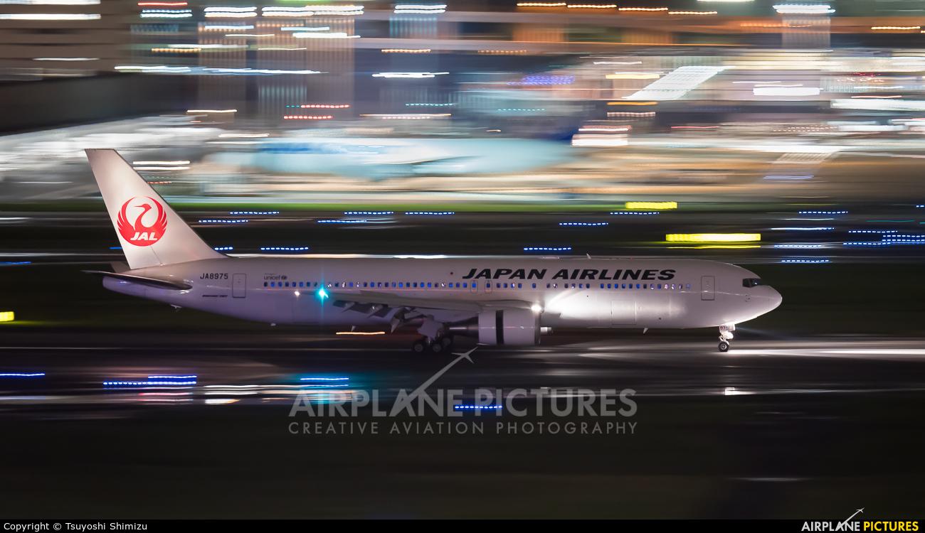 JAL - Japan Airlines JA8975 aircraft at Tokyo - Haneda Intl