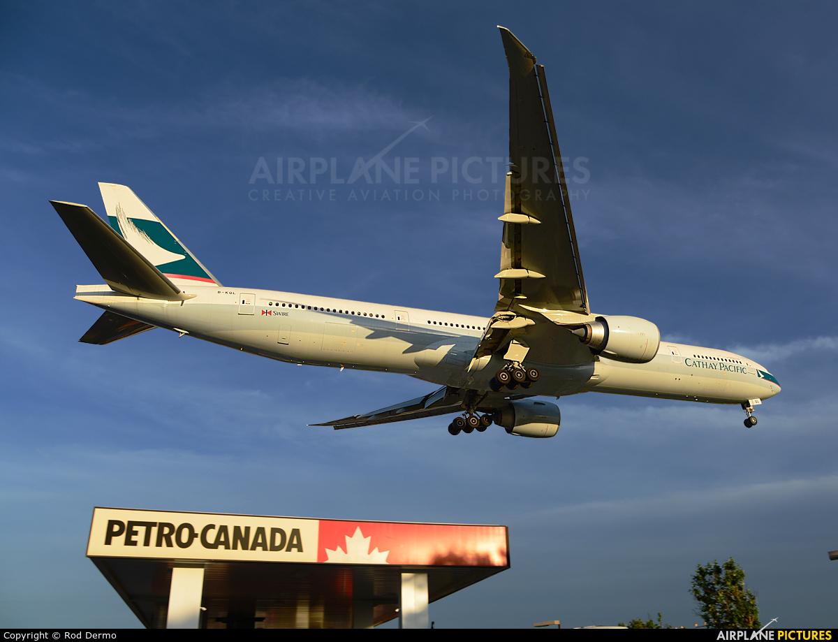 Cathay Pacific B-KQL aircraft at Toronto - Pearson Intl, ON