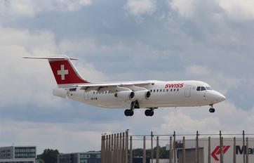 HB-IXW - Swiss British Aerospace BAe 146-300/Avro RJ100