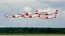 - - Poland - Air Force: White & Red Iskras PZL TS-11 Iskra aircraft