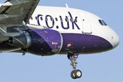 G-OZBB - Monarch Airlines Airbus A320 aircraft