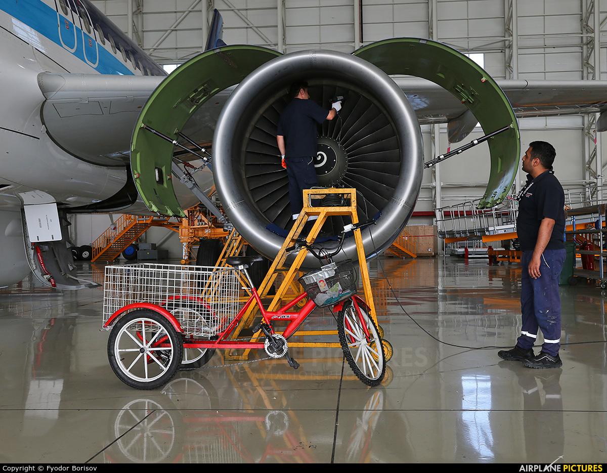 Azerbaijan Airlines 4K-AZ83 aircraft at Baku - Bina / Heydar Aliyev Intl