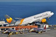 OO-TCV - Thomas Cook Belgium Airbus A320 aircraft