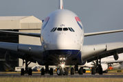 G-XLEE - British Airways Airbus A380 aircraft