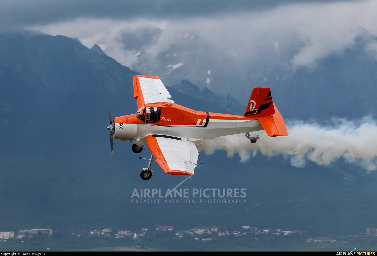 Aeroklub Dubnica nad Vahom OM-CJA aircraft at Poprad - Tatry