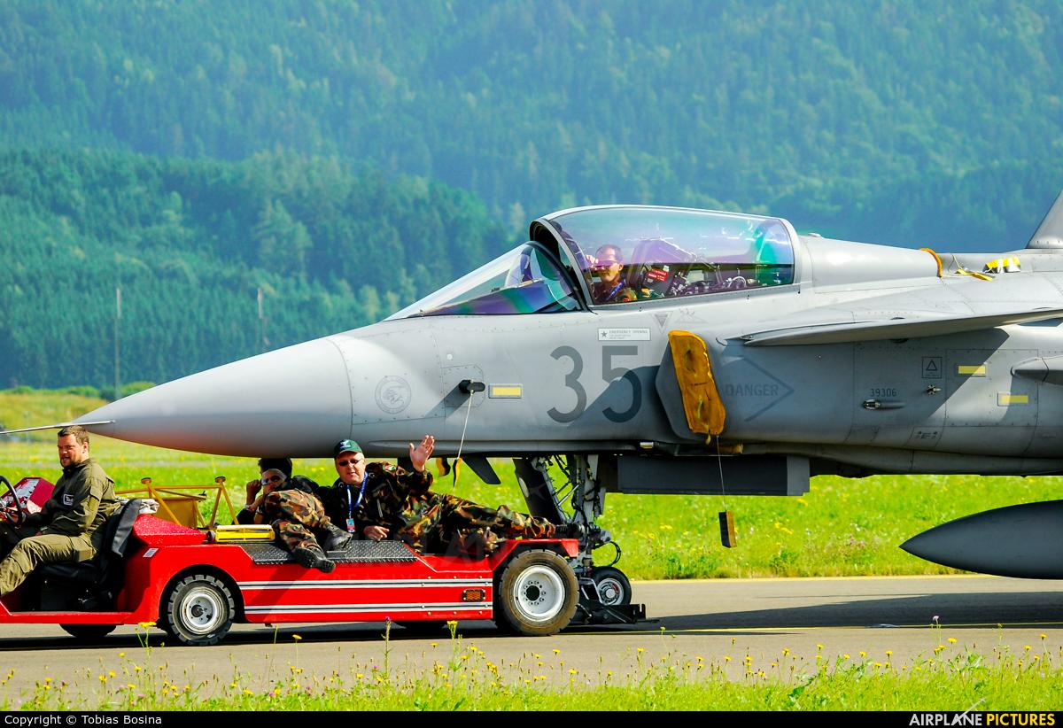 Hungary - Air Force 35 aircraft at Zeltweg