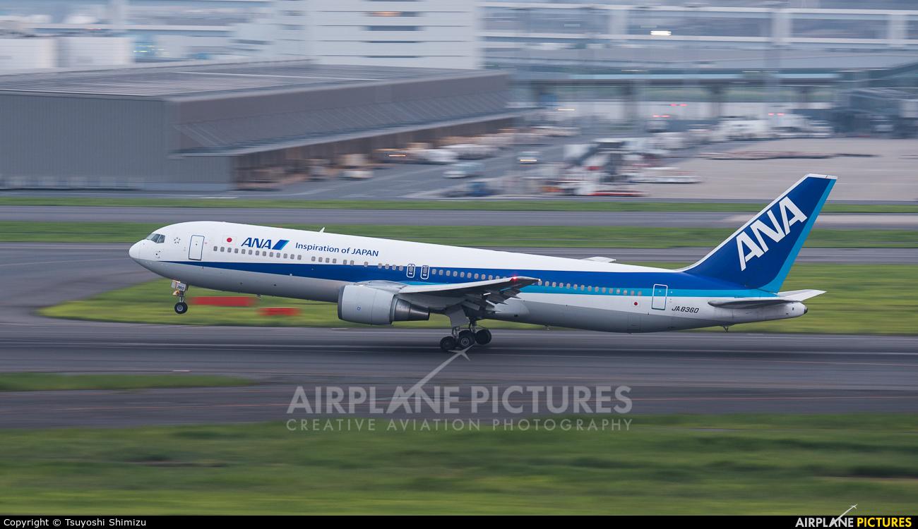 ANA - All Nippon Airways JA8360 aircraft at Tokyo - Haneda Intl