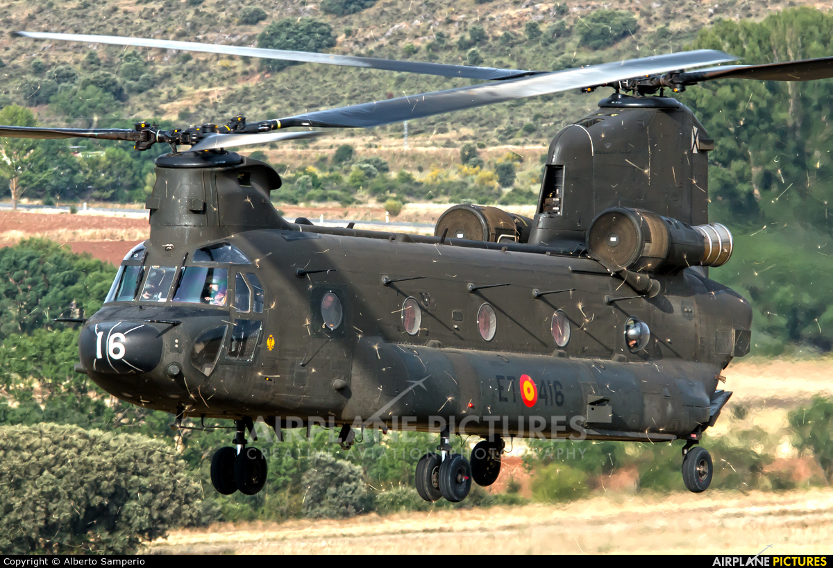 Spain - Army HT.17-16 aircraft at Colmenar Viejo