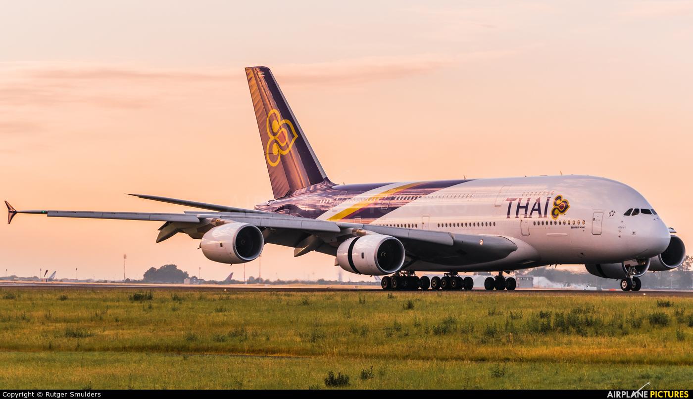 Thai Airways HS-TUE aircraft at Paris - Charles de Gaulle